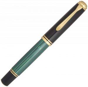 Pelikan Premium Stylo plume de luxe Souverain M1000 Pointe Fine Noir/Vert de la marque Pelikan image 0 produit