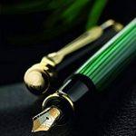Pelikan Premium Stylo plume de luxe Souverain M1000 Pointe Moyenne Noir/Vert de la marque Pelikan image 3 produit