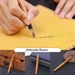 Pen Fine Plume fine, limitée fabriqué à la main en bambou Edition, pointe fine avec étui de luxe, stylos plume de calligraphie Ensemble cadeau pour homme à partir de Renook de la marque Mooker image 2 produit