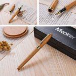 Pen Fine Plume fine, limitée fabriqué à la main en bambou Edition, pointe fine avec étui de luxe, stylos plume de calligraphie Ensemble cadeau pour homme à partir de Renook de la marque Mooker image 1 produit