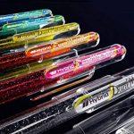 Pentel, Hybrid Dual Metallic K110, Pochette de 6 rollers gel métallisés et irisés, multicolore, pointe 1mm de la marque Pentel image 1 produit
