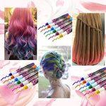 Philonext Craie cireuse professionnelle colorée de stylos Cheveux colorée non-toxique temporaire de cheveux (12 Colors) de la marque Philonext image 3 produit