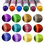 Philonext Craie cireuse professionnelle colorée de stylos Cheveux colorée non-toxique temporaire de cheveux (12 Colors) de la marque Philonext image 4 produit