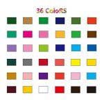 PHOEWON Crayons de Couleurs 36 Professionnels Crayon Coloriage Set Crayons à Dessin Crayon Aquarellable avec Boîte Métal, Crayons De Couleurs pour Adultes Artiste Enfants de la marque PHOEWON image 2 produit