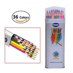 PHOEWON Crayons de Couleurs 36 Professionnels Crayon Coloriage Set Crayons à Dessin Crayon Aquarellable avec Boîte Métal, Crayons De Couleurs pour Adultes Artiste Enfants de la marque PHOEWON image 0 produit