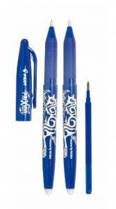 Pilot 2260BM2I Lot de 2 stylos Frixion Ball (Bleu) + 1 mine recharge Frixion de la marque Pilot image 0 produit