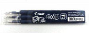 PILOT 410019 Recharge Frixion Clicker Ball écriture moyenne 0,7 mm encre effaçable Nuit Set de 3 Unités de la marque Pilot image 0 produit