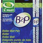 Pilot - Begreen - Boite de 10 stylos - Stylo Encre Gel B2P- Ecologique - R?tractable - Rechargeable - Taille de mine : 0,5 mm - Rouge de la marque Pilot image 1 produit
