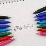 Pilot - Blister 3 FriXion Ball Clicker 0.7 - Roller effaçable - Rose/Violet/Turquoise - Pointe moyenne de la marque Pilot image 4 produit