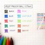 Pilot - Blister FriXion Ball 0.7 - Roller effaçable - Rouge + 1 set de 3 recharges - Pointe moyenne de la marque Pilot image 3 produit