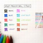 Pilot - Blister FriXion Ball 0.7 - Roller effaçable - Bleu + 1 set de 3 recharges - Pointe moyenne de la marque Pilot image 5 produit