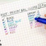 Pilot - Blister FriXion Ball Clicker 0.7 - Roller effaçable - Noir + 1 set de 3 recharges - Pointe moyenne de la marque Pilot image 4 produit