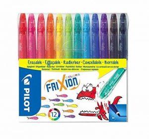 Pilot - FriXion Colors - Feutre - Set de 12 - Couleurs assorties - Pointe Moyenne de la marque Pilot image 0 produit
