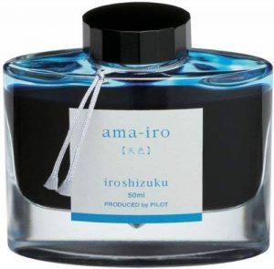 Pilot Iroshizuku Bottled Fountain Pen Ink, Ama-Iro, Light Blue (69226) de la marque Pilot image 0 produit