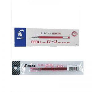 Pilot Lot de 12 Recharge pour stylo G205 Rouge de la marque Pilot image 0 produit