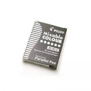 PILOT Lot de 3 Boites de 6 Cartouches d'encre pour stylo Parallel Pen Noir de la marque Pilot image 0 produit