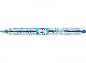 PILOT Lot de 3 Stylos bille encre gel B2P Pte moyenne 0,7mm Tracé 0,4 mm Bleu de la marque Pilot image 0 produit