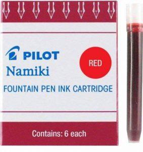 Pilot Namiki CE50 cartouches d'encre pour stylo-plume rouge (lot de 6) de la marque Pilot image 0 produit