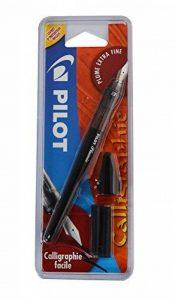 Pilot Plumix Stylo-Plume. Plume Extra Fine + Cartouche encre noire,0.32mm de la marque Pilot image 0 produit