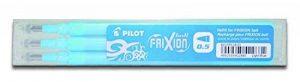 Pilot Stylo 0.5mm Frixion Recharge pour Frixion Stylo à bille effaçable - Turquoise (Lot de 3) de la marque Pilot image 0 produit