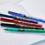 Pilot - V-Ball 0,5 - Roller encre liquide - Pochette de 4 - Noir/Bleu/Rouge/Vert - Pointe fine de la marque Pilot image 6 produit