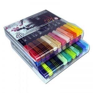 Pinceau Stylet Koi Colo Bague Brush Set, 48couleurs de la marque Sakura Koi image 0 produit