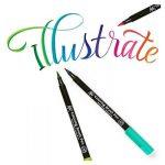 Pinceau Stylet Koi Colo Bague Brush Set, 48couleurs de la marque Sakura Koi image 1 produit