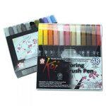 Pinceau Stylet Koi Colo Bague Brush Set, 48couleurs de la marque Sakura Koi image 2 produit