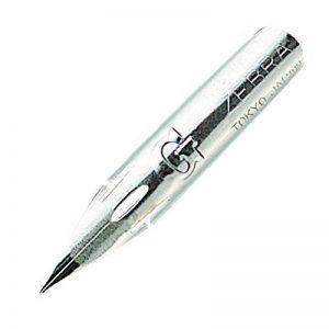 Plumes de stylo en chrome Zebra modèle Comic G, 10 plumes (PG-6B-C-K) de la marque Zebra image 0 produit