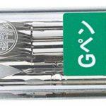 Plumes de stylo en chrome Zebra modèle Comic G, 10 plumes (PG-6B-C-K) de la marque Zebra image 1 produit