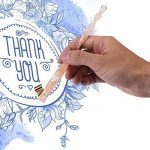 Porte-plume Support de Plume de Calligraphie en Résine avec des Dessins de Sakura de la marque Walfront image 2 produit