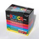 Posca PC8K/15 Boîte de 15 Marqueurs Assortis de la marque Posca image 1 produit