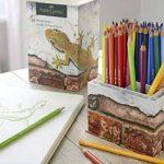 Pots de 68crayons de couleur Polychromos en édition limitée Faber-Castell, couleurs éclatantes, crayons de couleur avec mines incassables dans une boîte de rangement de la marque Faber-Castell image 2 produit