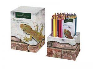 Pots de 68crayons de couleur Polychromos en édition limitée Faber-Castell, couleurs éclatantes, crayons de couleur avec mines incassables dans une boîte de rangement de la marque Faber-Castell image 0 produit