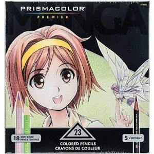 Prismacolor 1774800 Premier Crayons de couleurpour mangas de la marque Prismacolor image 0 produit