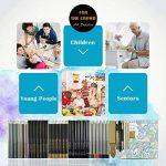 Professionnel Colore Crayons de Dessin Art Set - Malette dessin Inclus pastel, aquarelle, dessin, Charbon de bois,métallique crayons de couleur et materiel dessin,Idéal Cadeaux pour Artiste Adulte Enfant de la marque Zzone image 4 produit