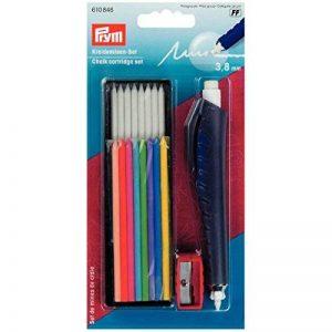 Prym Lot de cartouches en craie pour écrire/marquer et dessiner sur textiles/papier/bois/plastique/métal, Multicolore de la marque Prym image 0 produit