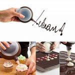 QiyuanLS Macaron formant le moule - mode de moulage de cuisson de silicone de Macaron de 48 capacités de la marque QiyuanLS image 4 produit