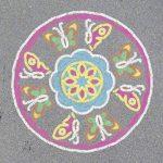 Ravensburger original Mandala Designer 29763–Outdoor Fleurs et papillons de la marque Ravensburger image 2 produit