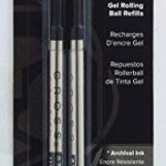 recharge stylo cross gel rolling ball TOP 4 image 2 produit