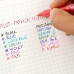 recharge stylo effaçable pilot TOP 4 image 4 produit