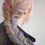 Richoose Craie de couleur de cheveux instantanée à usage unique peigner leurs cheveux teints partie rose flash temporaire de longue durée fans cosplay bricolage 6PCS de la marque Richoose image 4 produit