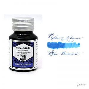 Rohrer & Klingner *depuis 1892* Flacon d'encre - Bleu Permanent - 50ml de la marque Rohrer&Klingner image 0 produit