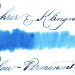 Rohrer & Klingner *depuis 1892* Flacon d'encre - Bleu Permanent - 50ml de la marque Rohrer&Klingner image 1 produit