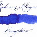 Rohrer & Klingner,depuis 1892 Flacon d'encre - Bleu Royal - 50ml de la marque Rohrer&Klingner image 1 produit