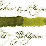 Rohrer & Klingner *depuis 1892* Flacon d'encre - Vert d'or Vieux - 50ml de la marque Rohrer&Klingner image 1 produit