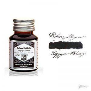 Rohrer & Klingner *depuis* Flacon d'encre - Noire Leipsicien - 50ml de la marque Rohrer&Klingner image 0 produit