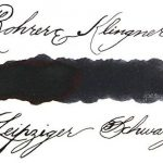 Rohrer & Klingner *depuis* Flacon d'encre - Noire Leipsicien - 50ml de la marque Rohrer&Klingner image 1 produit