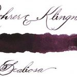 "Rohrer & Klingner Fountain Pen Ink - Iron/Gall Nut Ink ""Scabiosa"" - 50ml de la marque Rohrer&Klingner image 1 produit"