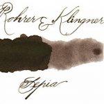 Rohrer&Klingner Ro-40610050 - *depuis 1892* Flacon d'encre – Sepia – 50 ml de la marque Rohrer&Klingner image 1 produit